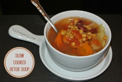 Detox Soup Cooker by Cooked Detox Soup Nosh My Way