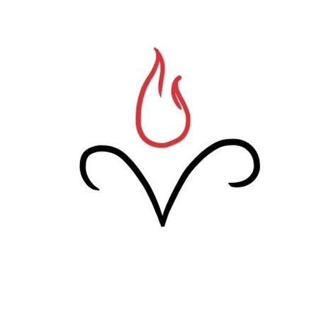small flame tattoos 25 best ideas about aries tattoos on aries