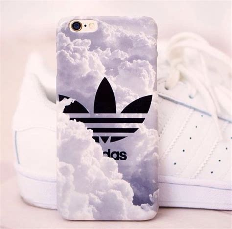 Cover Adidas Black phone cover phonecase iphone adidas clouds iphone