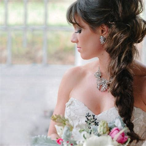 Bridal Hairstyles Side Braid by The Bridal Hairstyle For 7 Hairdos