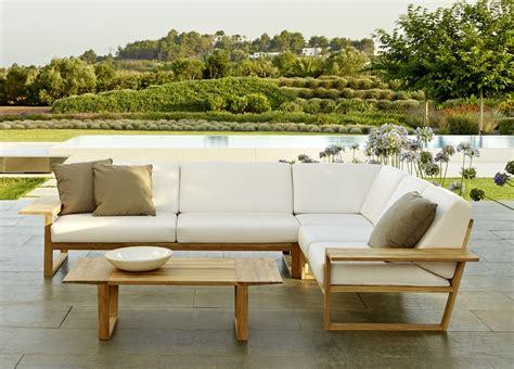 sofa garden lineal corner garden sofa contemporary garden furniture