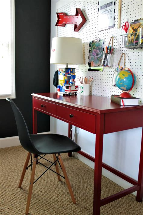 desks for kids bedrooms our fifth house boy s desk area