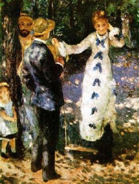 renoir swing the swing print by pierre auguste renoir worldgallery co uk