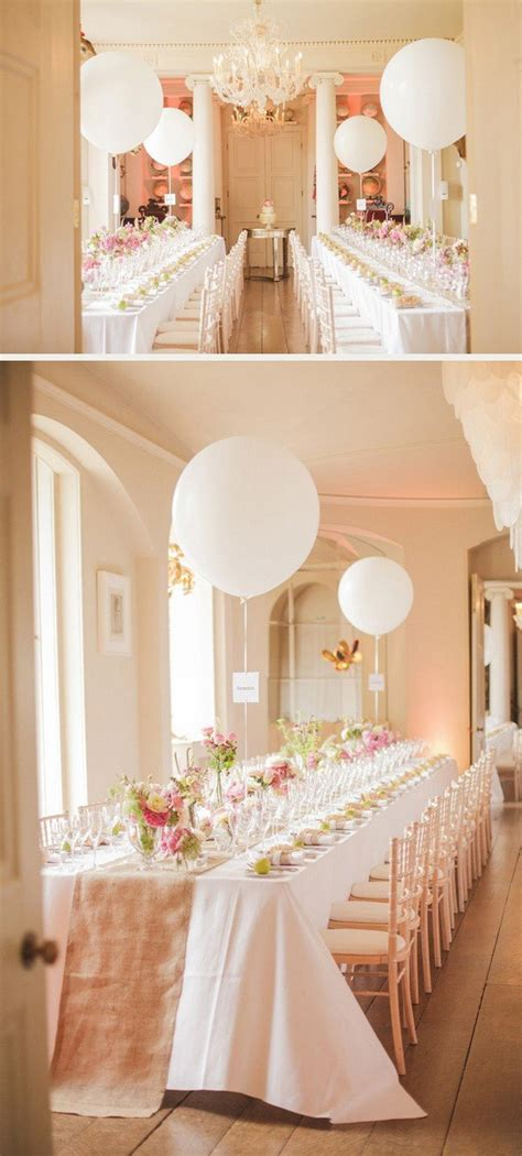 16 Romantic Wedding Decoration Ideas with Balloons   Page