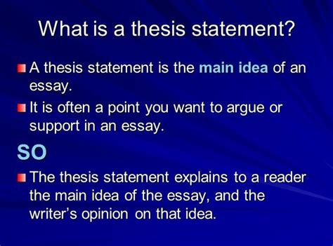 Essay Thesis Statement Exle by Thesis Statement Types 28 Images Exles Of Thesis