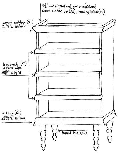 bookshelf sketch plain bookshelf fancy diy china cabinet crafty nest