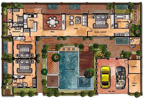 House Bali Style Home Design And Style Balinese Style House Plans