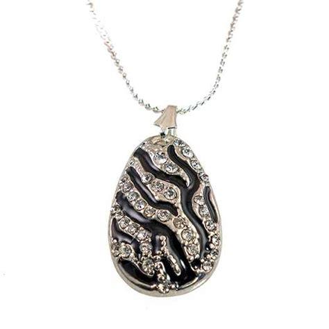 Zebra Necklace rancho trading company snt241 zebra necklace and