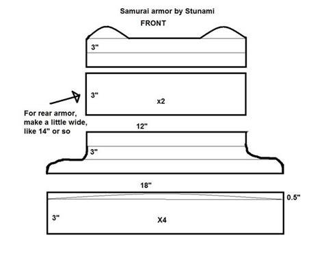 cardboard samurai armor that looks authentic 5 steps