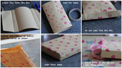 diy paper gift bag tutorial best diy do it your self