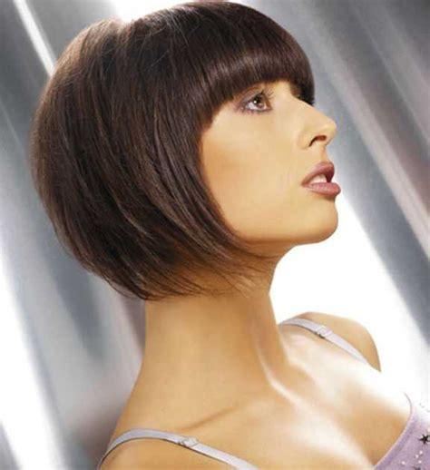 tapered bob hairstyles 13 adorable bob hairstyles with bangs