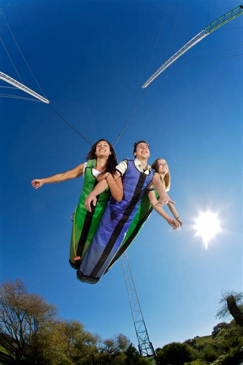 sky swing new zealand new zealand s swoop super swing agroventure adventure park
