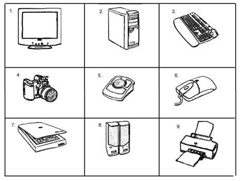 worksheet computer parts 18 best images of computer parts test worksheet computer basics worksheet computer parts