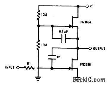 capacitance multiplier fet jfet with ac coupling basic circuit circuit diagram seekic