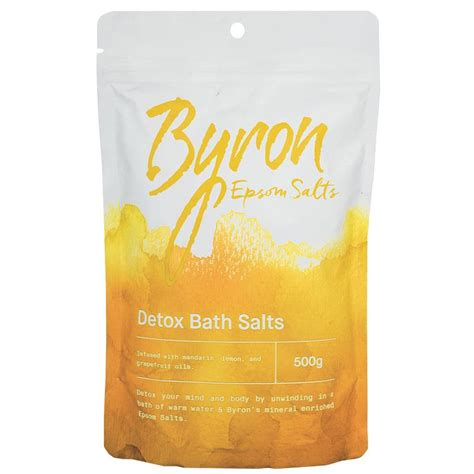 Where To Buyepsom Salts Detox by Buy Byron Bath Salts Detox 500g At Chemist Warehouse 174