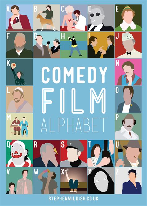comedy film quiz questions and answers comedy film alphabet poster quizzes your comedy movie
