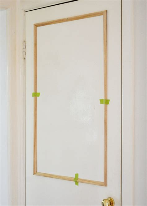 Adding An Exterior Door The Painted Hive How To Add Trim To Plain Doors Autos Post