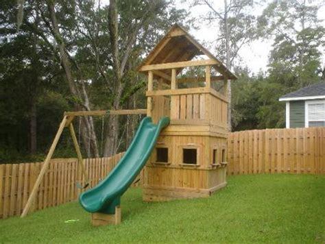 free playhouse swing set plans pdf woodwork swing set playhouse plans download diy plans