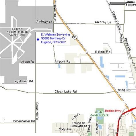 map of oregon airports image gallery oregon airports map