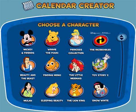 Calendario Disney Calendarios Para Imprimir De Disney