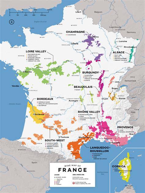 wine map wine exploration map wine folly