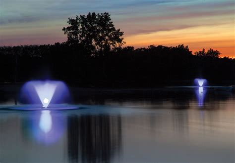scott aerator night glo color changing  light fountain