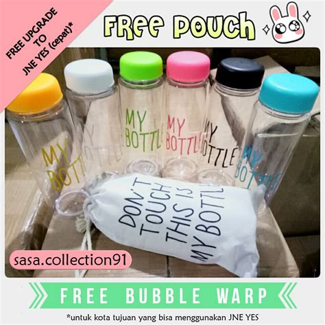 My Bottle Free Pouch Cantik my bottle free pouch free warp sasa shopee indonesia