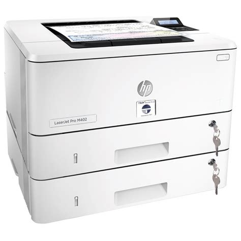 Printer Hp M402n troy store m402tn security printer with two 2 locking trays