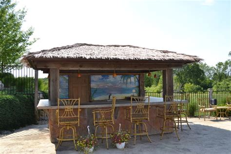 outdoor backyard bar 8 outdoor tiki bars that make us want to hula dance