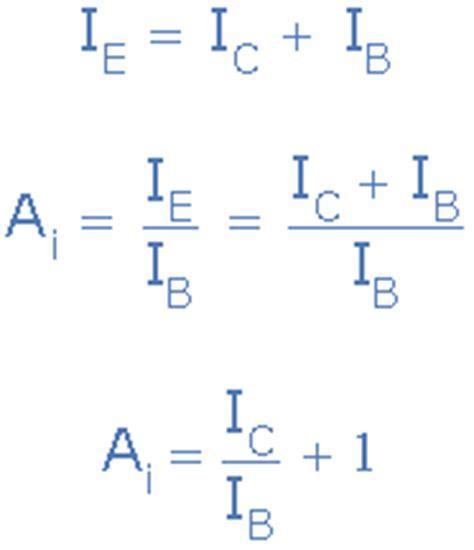 bjt transistor gain formula bipolar transistor tutorial the bjt transistor