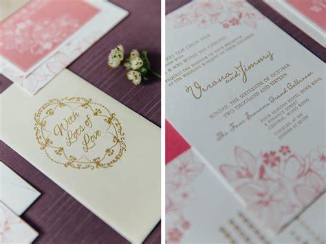 wedding invitation hong kong wedding invitation and stationery tips hong kong wedding