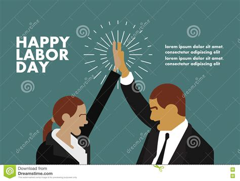 labor day greeting cards templates happy labor day greeting card businessman concept