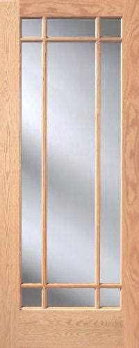 red oak prairie  lite french interior doors homestead doors