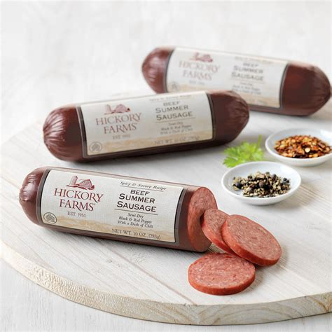 Detox Hickory by How Much Is 1 Oz Of Summer Sausage