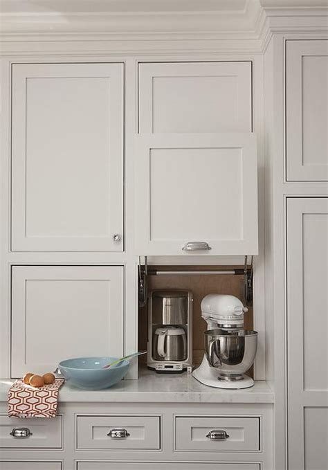 kitchen appliance storage cabinets 25 best ideas about kitchen appliance storage on