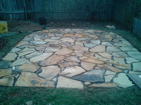flagstone patio sand greetings from earth flagstone patio install using polymer sand