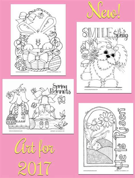 easter colors 2017 easter coloring pages