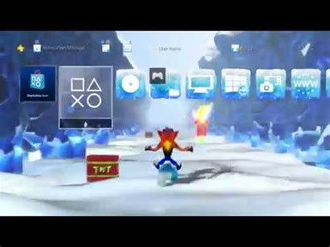 ps4 themes crash crash bandicoot n sane trilogy ps4 crash 2 bear it ps4