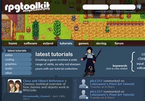 website game tutorial pixel based websites resources tutorials and exles