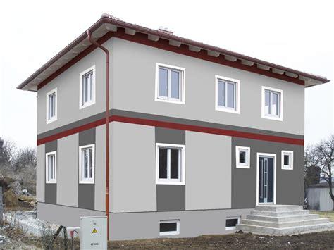 moderne fassadengestaltung fassadengestaltung design und farbe mit vorabvisualisierung