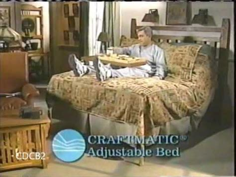 craftmatic adjustable bed commercial version 2004