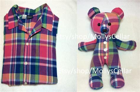 Handmade Teddy Bears From Clothes - memorial memory keepsake teddy custom memory