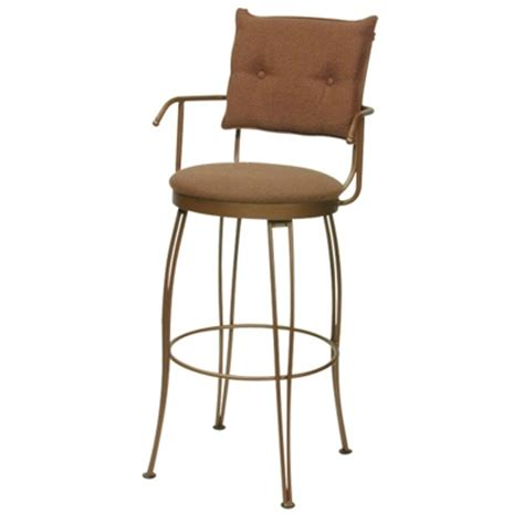 Counter Stools With Arms by F G Bradley S Bar Stools Trica Bill Ii Swivel