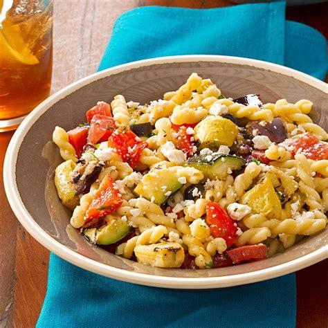 garden vegetable pasta salad garden vegetable pasta salad recipe taste of home