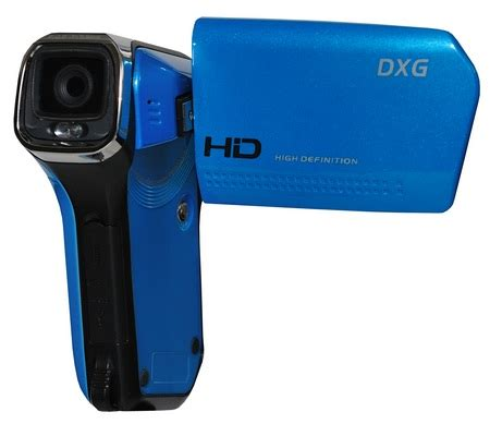 Dxg Release 5 Megapixel Camcorder Dxg 506v In Four Colours Including Black Natch by Dxg Quickshots Dxg 5b6v 720p Hd Camcorder Itech News Net