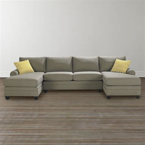 sofa with a chaise lounge marvelous double chaise lounge sofa high resolution