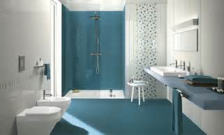 carrelage salle de bain bleu id 233 es d 233 sob 233 issant 224 la