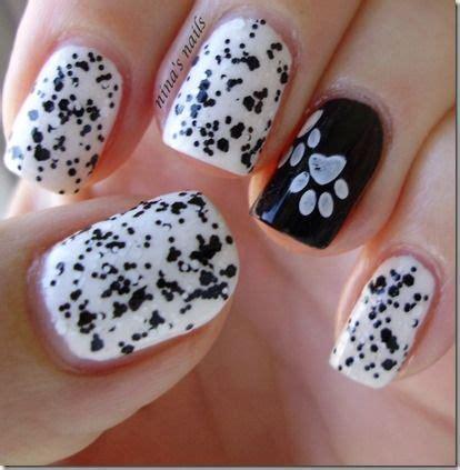 Paw Print Nail Designs