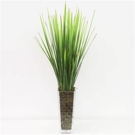 agave vaso folhagem de agave silicone vaso vidro floricultura s 243