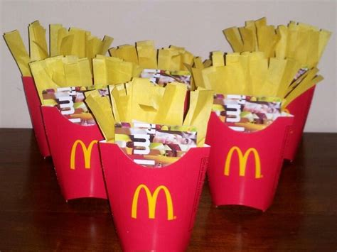 Gift Card Mcdonalds - best 25 mcdonalds gift card ideas on pinterest gift card basket gift card tree and